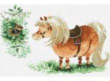 - Наборы для вышивания. Пони и птичка (821-14 ) обложка книги