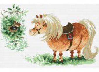 Наборы для вышивания. Пони и птичка (821-14 )