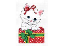 - Наборы для вышивания. Пушистый подарок (850-14 ) обложка книги