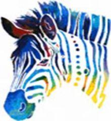 - Наборы для вышивания. Радужная зебра (4202-14 ) обложка книги