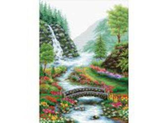 Наборы для вышивания. Река в лесу (1554-14 )