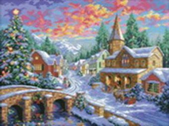 Наборы для вышивания. Рождественская ночь (2289-14 )