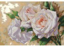 - Наборы для вышивания. Розовое трио (6035-14 ) обложка книги