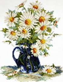 - Наборы для вышивания. Садовые ромашки (1966-14 ) обложка книги