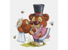 - Наборы для вышивания. Свадьба (128-14 ) обложка книги