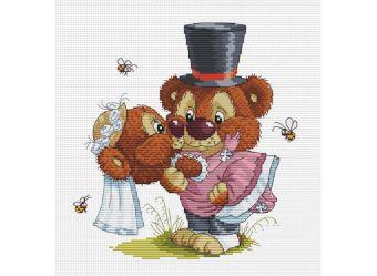 Наборы для вышивания. Свадьба (128-14 )