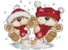 Наборы для вышивания. Снежки (401-14 )
