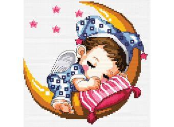 Наборы для вышивания. Спящий малыш (659-14 )