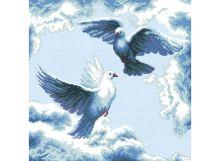 - Наборы для вышивания. Танец в облаках (1170-14 ) обложка книги