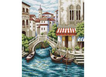 Наборы для вышивания. Улочки Венеции (4105-14 )
