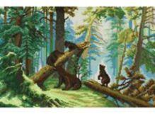 - Наборы для вышивания. Утро в сосновом лесу (4160-14 ) обложка книги