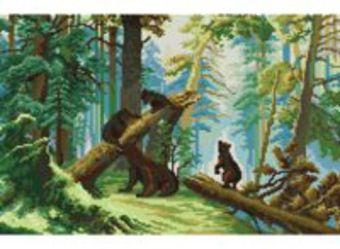 Наборы для вышивания. Утро в сосновом лесу (4160-14 )