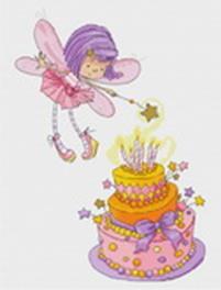 - Наборы для вышивания. Феечка с тортом (905-14 ) обложка книги