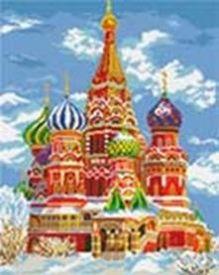 - Наборы для вышивания. Храм Василия Блаженного (4060-14 ) обложка книги