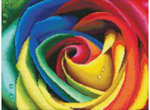 Наборы для вышивания. Цветные лепестки (2645-14 )