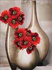 - Наборы для вышивания в формате 3D. Три вазы (7020-3D ) обложка книги