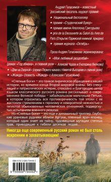 Обложка сзади Степные боги; Разгуляевка Андрей Геласимов