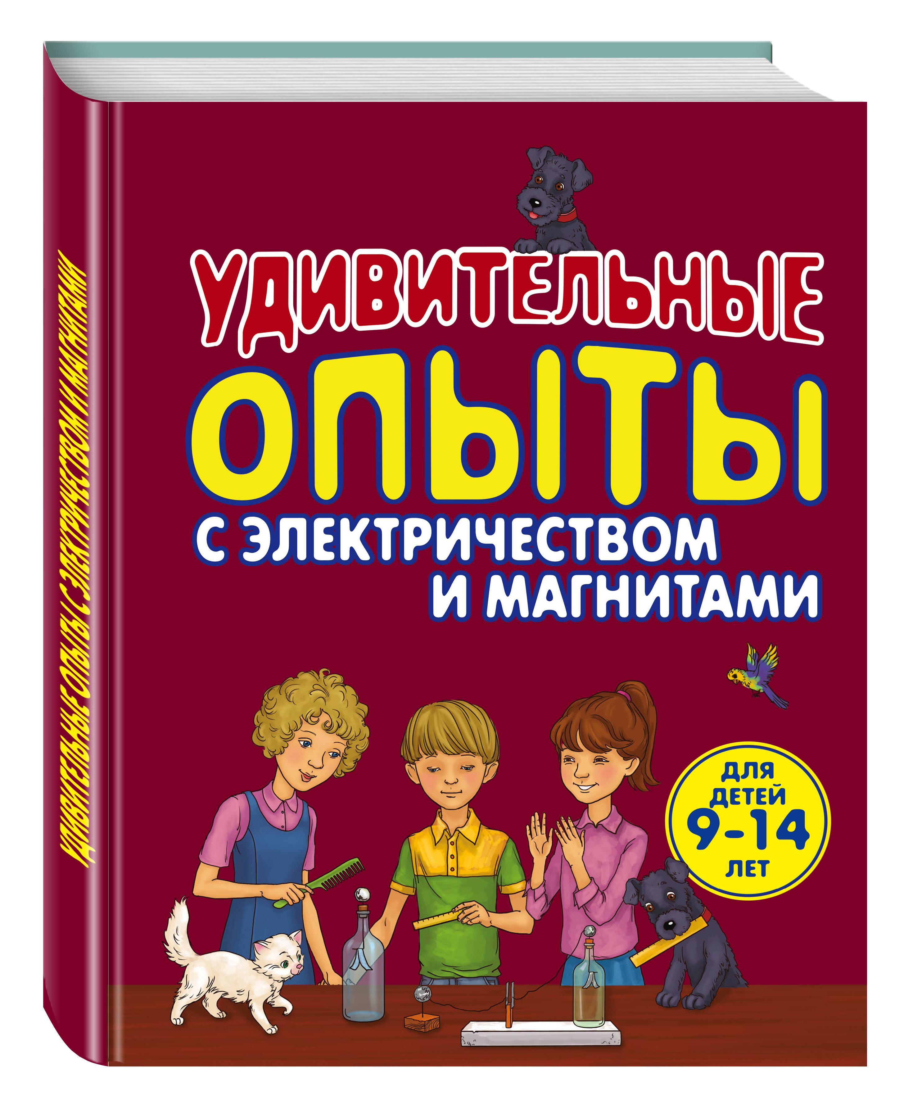 Удивительные опыты с электричеством и магнитами ( Проневский А.Г.  )