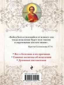 Обложка сзади Православный целебник. Главные молитвы для исцеления души и тела