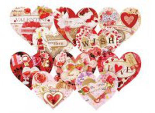 """Наборы для скрапбукинга. Набор для создания 10-ти открыток """"Влюблённые"""" (260-SB )"""