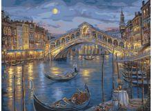 - Живопись на холсте.Размер 40*50 см.. Венецианская ночь (846-AB ) обложка книги