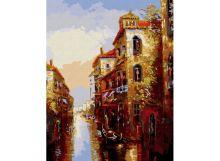 - Живопись на цветном холсте 40*50 . Канал в Венеции (010-CG-C) обложка книги