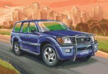 - Живопись на цветном холсте 40*50 . Toyota Land Cruiser (856-AB-C) обложка книги