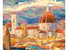 - Живопись на цветном холсте 40*50 . Дождь над Флоренцией (896-АВ-C) обложка книги