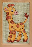 Наборы для вышивания с рамкой. Жираф (200-EF)