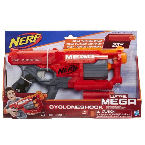 NERF Бластер Мега Циклон-шок (A9353)