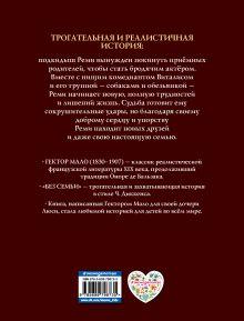 Обложка сзади Без семьи. Приключения Реми (ил. Э. Байара) Гектор Мало