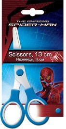 SM4U-12S-SC13-BL1 Ножницы 13 см, 1 шт. Гравировка логотипа на лезвиях. Упаковка -блистер, европодвес Spider-man
