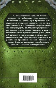 Обложка сзади Небо в огне. Штурмовик из будущего Дмитрий Политов