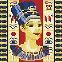Мозаичные картины. Нефертити (022-ST-R)