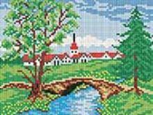 - Мозаичные картины. Летний мостик (198-ST) обложка книги