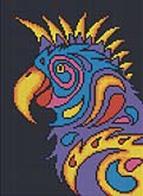 - Мозаичные картины. Попугай (236-ST) обложка книги