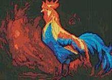 Мозаичные картины. Петух (238-ST)