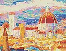 - Мозаичные картины. Дождь над Флоренцией (241-ST) обложка книги