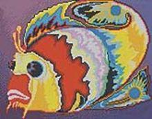 - Мозаичные картины. Крылатка (242-ST) обложка книги