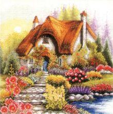 - Наборы для вышивания. Маленький домик (1385-14) обложка книги