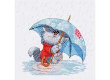 - Наборы для вышивания. Кошарик под дождём (142-14) обложка книги