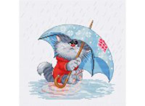 Наборы для вышивания. Кошарик под дождём (142-14)