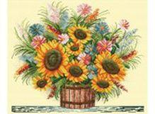 - Наборы для вышивания. Осенний букет (1104-14) обложка книги