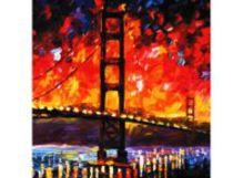 - Наборы для вышивания. Мост Золотые ворота (8050-16) обложка книги