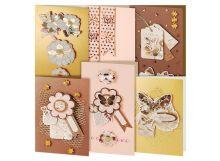 - Наборы для скрапбукинга. Набор для создания 6-ти открыток Бабочки (217-SB) обложка книги