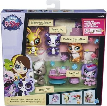 Littlest Pet Shop Мини-Игровой набор LITTLEST PET SHOP