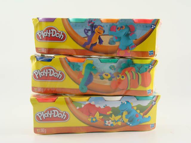 Play-Doh Пластилин: Набор из 4 баночек пластилина (в ассорт.) (22114)