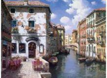 - Живопись на холсте 40*50 см. Венецианские дома (631-AB) обложка книги