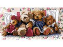 Наборы для вышивания 14ст. Медвежья семейка (1305-14)