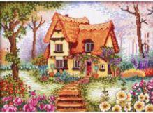 Наборы для вышивания 14ст. Сказочный домик (1898-14)